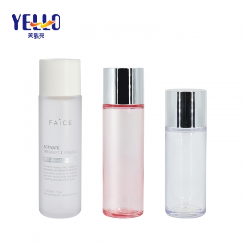 100ml 150ml 180ml Heavy Wall PET Empty Toner Bottles , Plastic Cosmetic Liquid Containers
