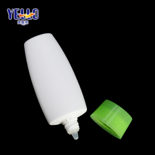 Unique Shape HDPE Sunscreen Cream Bottles 45ml