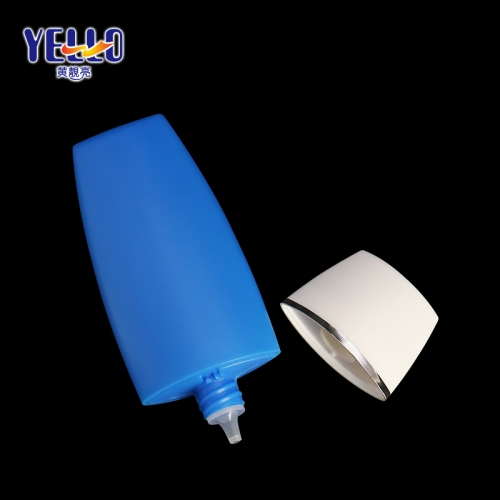 40ml Blue Squeeze Sunscreen Bottle For Skincare Packaging