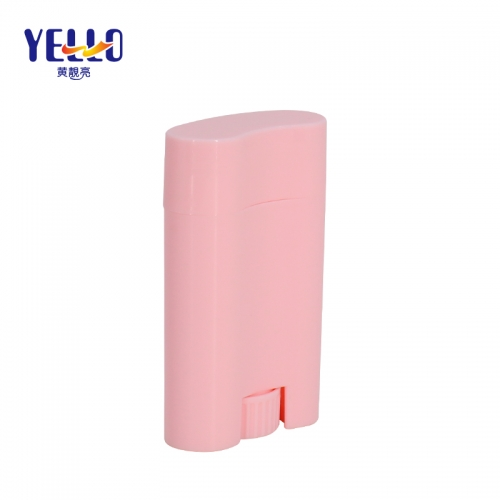20g Fancy Pink Sunscreen Stick Bottle , Empty Plastic Bottle Deodorant Container