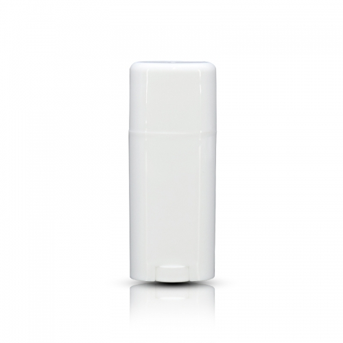 Pure White Plastic Sun Block Stick Container Roll On Bottle 50ml