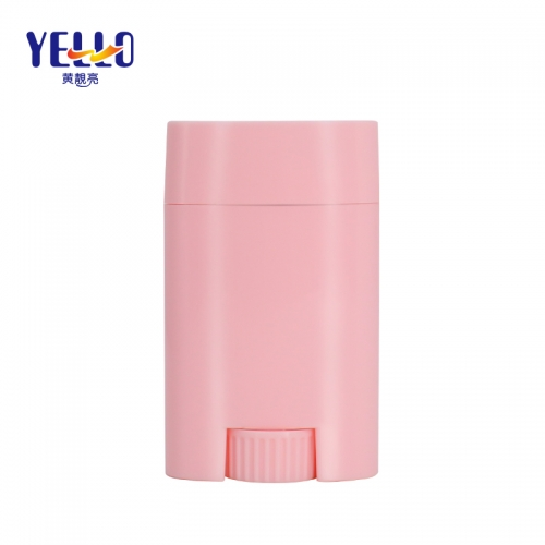 Pink Empty Deodorant Containers Wholesale, 20g Oval Deodorant Tubes For Sale