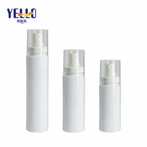 60ml 80ml Whte PET Fine Mist Spray Bottles / Empty Disinfectant Spray Bottle