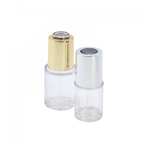 20ml Empty Clear Plastic Dropper Bottles For Essence Serum