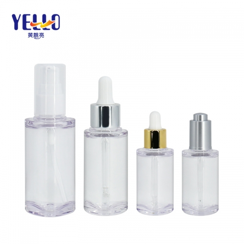 15ml 35ml 50ml Fancy Shape Lotion Dropper Bottles , Eco Friendly Plastic Cosmetic Container