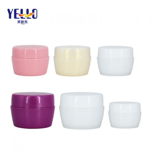 Wholesale 50g 80g Plastic Cosmetic Container PP Jars With Lid
