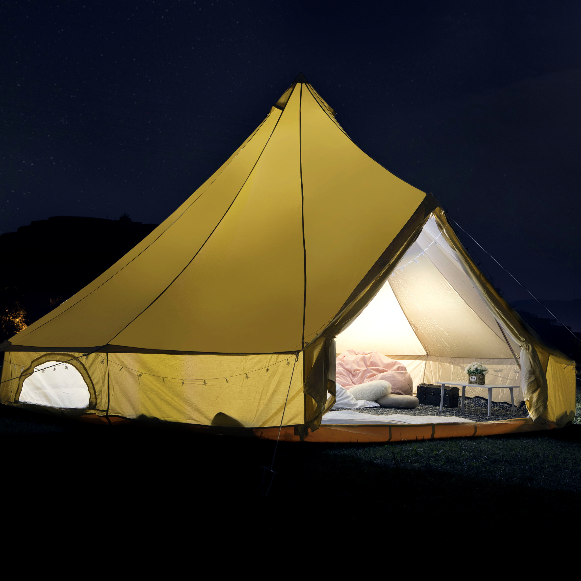 TENTS BY MATERIAL