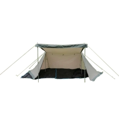 Glam Camp poly/cotton HEXA-FLY solo tent