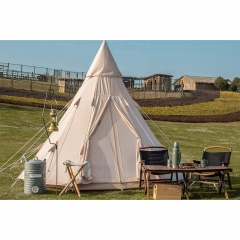 5m Canvas Teepee Tent