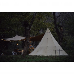 3m Canvas Teepee Tent