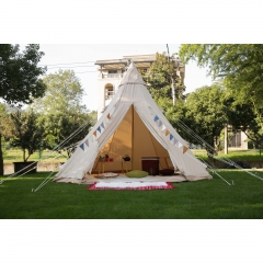 4m Canvas Teepee Tent