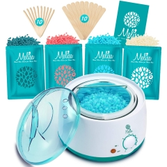 Yeelen Hair Removal Kit Hot Wax Warmer Waxing Kit Wax Melts With