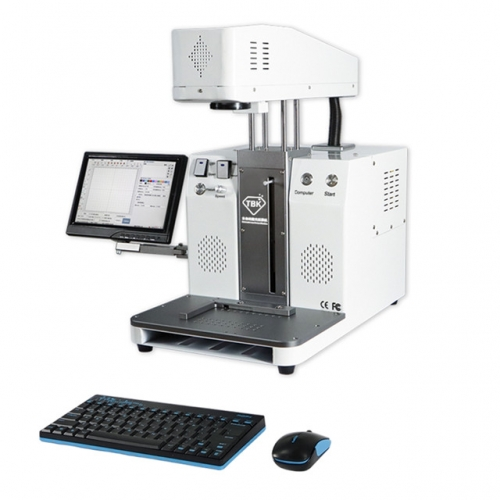 TBK-958C Automatic Back Glass Housing Separator Laser Marking Machine