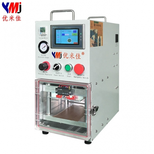 YMJ Portable Vacuum Laminating Machine and OCA Film Laminator for LCD Refurbishing