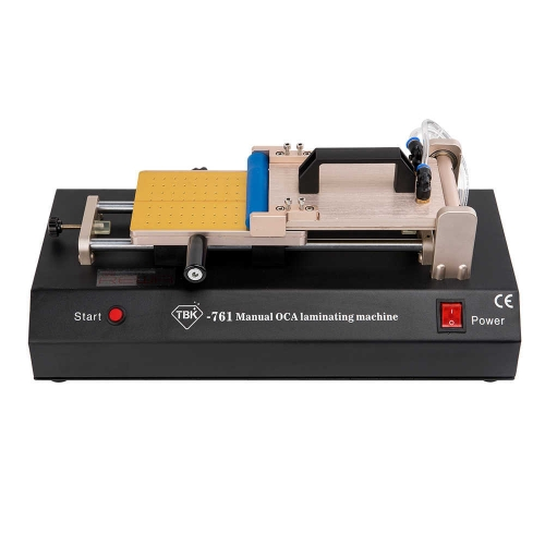 TBK 761 Manual Film Laminating Machine with Vacuum Pump For laminating the OCA and Polarized Film