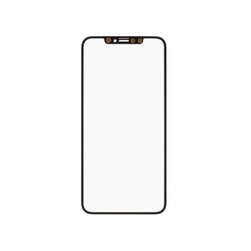 Glass Lens with OCA For Apple iPhone XS Max - Black