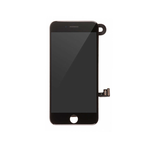 LCD Display and Touch Screen Digitizer Assembly with Frame and Components Replacement For Apple iPhone 8 Plus - Black-AA