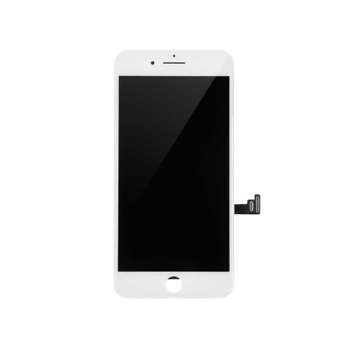 LCD Display and Touch Screen Digitizer Assembly With LCD Shield Plate Replacement For Apple iPhone 7 - White-AA