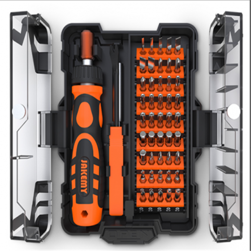 JM-6124 48 in 1 Household ratchet screwdriver tool set