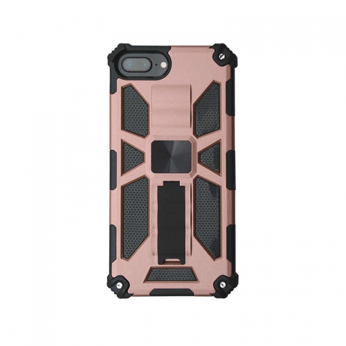 Shockproof Protective Phone Case With Kickstand For iPhone 6/6S/7/8/SE 2020 Rose Gold
