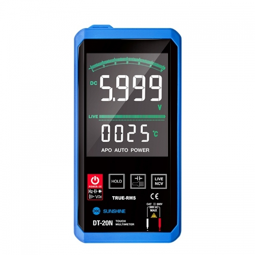 SUNSHINE SS DT-20N  Touch Control Digital Multimeter