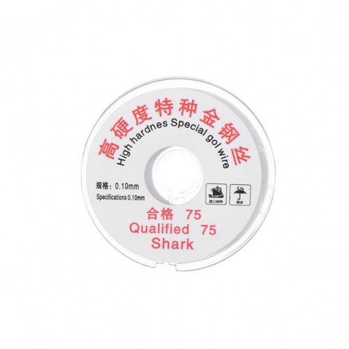 0.1mm Gold LCD Cutting Wire