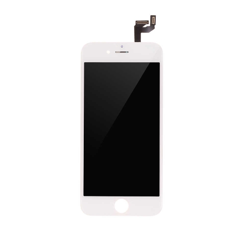 Basic LCD Display and Touch Screen Digitizer Assembly with Frame Replacement For Apple iPhone 6s - White-A