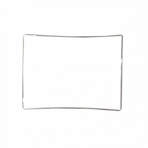 Front Bezel Replacement For Apple iPad 3/iPad 4 - White-OEM New