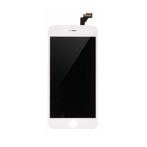 Basic LCD Display and Touch Screen Digitizer Assembly with Frame Replacement For Apple iPhone 6 Plus- White-A