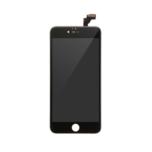 Basic LCD Display and Touch Screen Digitizer Assembly with Frame Replacement For Apple iPhone 6 Plus  - Black-A