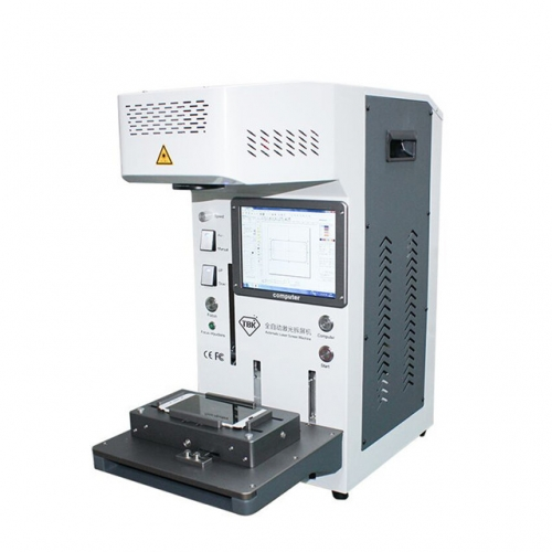 TBK-958A Automatic Back Glass Housing Separator Laser Marking Machine