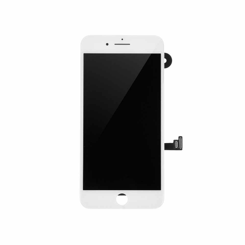 LCD Display and Touch Screen Digitizer Assembly with Frame and Components Replacement For Apple iPhone 7 Plus - White-AA