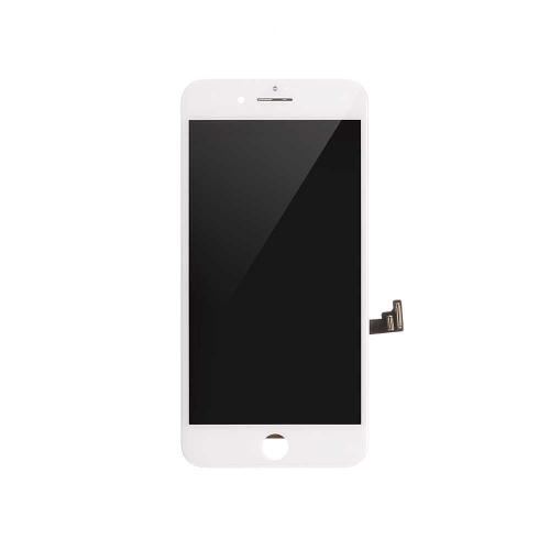 Basic LCD Display and Touch Screen Digitizer Assembly with Frame Replacement For Apple iPhone 7 Plus- White-A