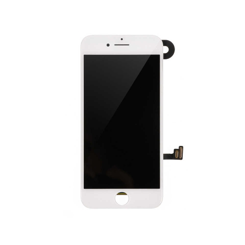 LCD Display and Touch Screen Digitizer Assembly with Frame and Components Replacement For Apple iPhone 8- White-AA