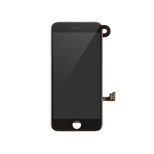 LCD Display and Touch Screen Digitizer Assembly with Frame and Components Replacement For Apple iPhone 8 -Black-AA