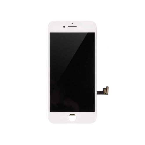 LCD Display and Touch Screen Digitizer Assembly With Shield Plate Replacement For Apple iPhone 8 - White-AA