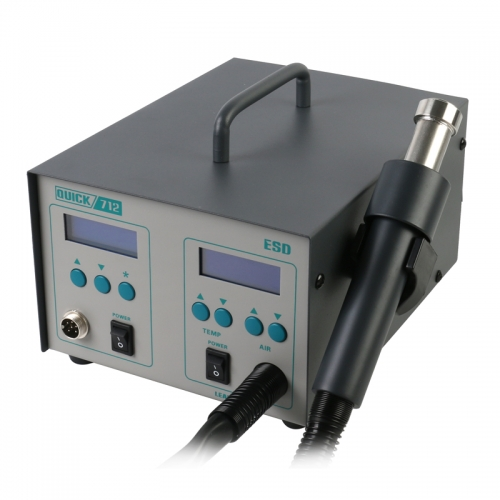 QUICK 712 2 in 1 Soldering Station (861DW + 203H) Special For Mobile Phone Repair