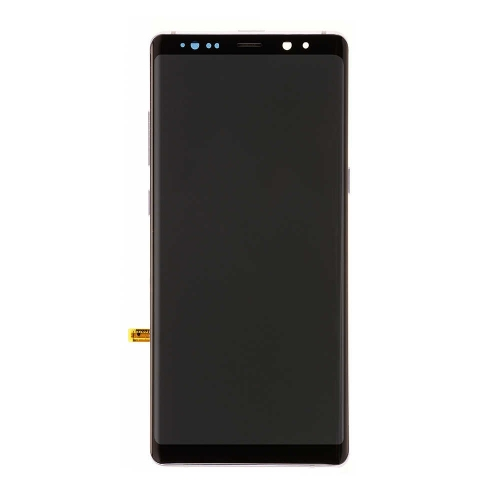 ​​​​​​​OLED Display and Touch Screen Digitizer Assembly With Frame Replacement For Samsung Galaxy Note 8 - Purple - OEM Refurb