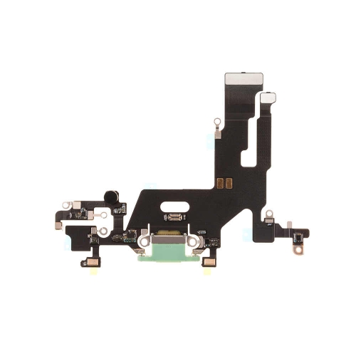 Charging Port Flex Cable Replacement For Apple iPhone 11 - Green- OEM NEW