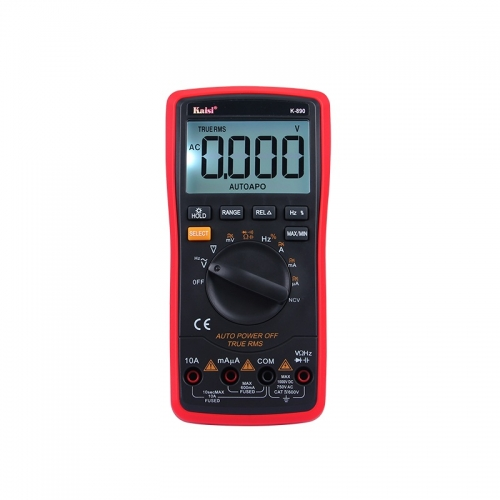 KAISI 20000 count High precision automatic measuring range digital multimeter true RMS digital capacitor temperature measurement