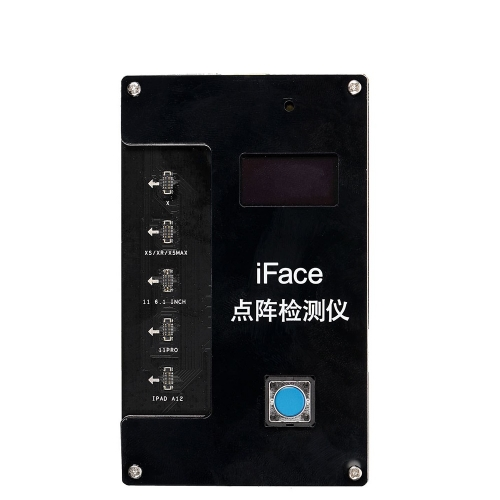 IFace Matrix Tester For iPhone X/XS/Xr/Xsmax/11Pro Max Face ID Testing Repair for iPAD A12 One click to Detect Dot Projector