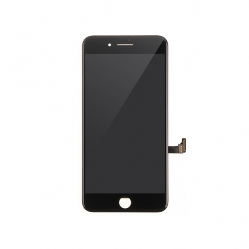 LCD Display and Touch Screen Digitizer Assembly with Frame Replacement For Apple iPhone 8 Plus- Black - AA