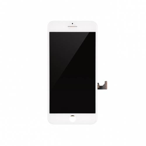 LCD Display and Touch Screen Digitizer Assembly with Frame Replacement For Apple iPhone 8 Plus - White - AA