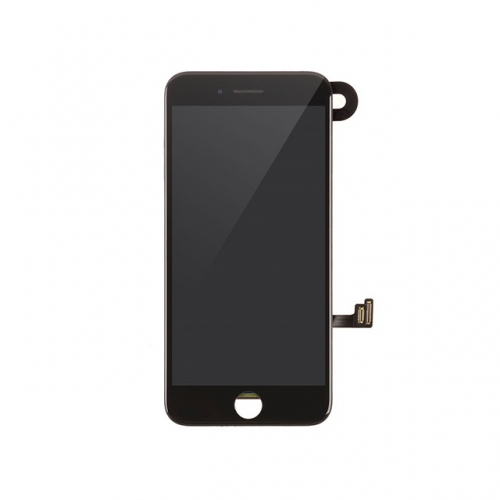 LCD Display and Touch Screen Digitizer Assembly with Frame and Components Replacement For Apple iPhone 8-black-A
