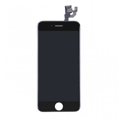 LCD Display and Touch Screen Digitizer Assembly With Frame and Components Replacement For Apple iPhone 6 Plus-Black-A
