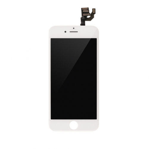 LCD Display and Touch Screen Digitizer Assembly With Frame and Components Replacement For Apple iPhone 6 Plus-White-A