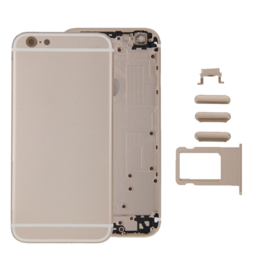 High-Quality Back Battery Cover Door Rear Middle Frame Chassis  for iPhone 6 Plus-AA