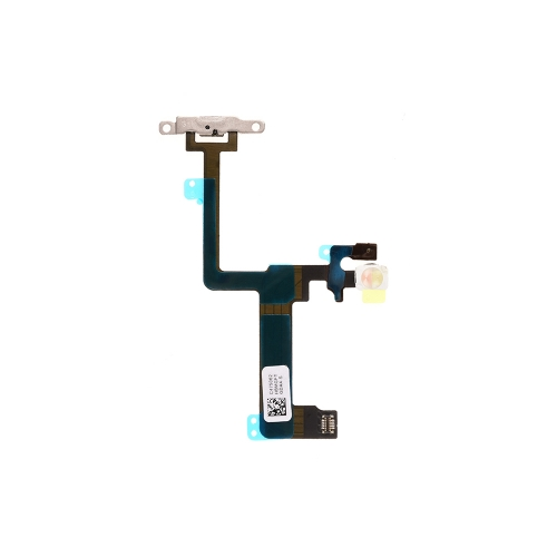 Power Switch Flex Cable With Metal Plate For Apple iPhone 6 Plus - AA