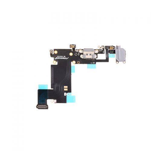 Charging Port Flex Cable Replacement For Apple iPhone 6s Plus- Black - AA