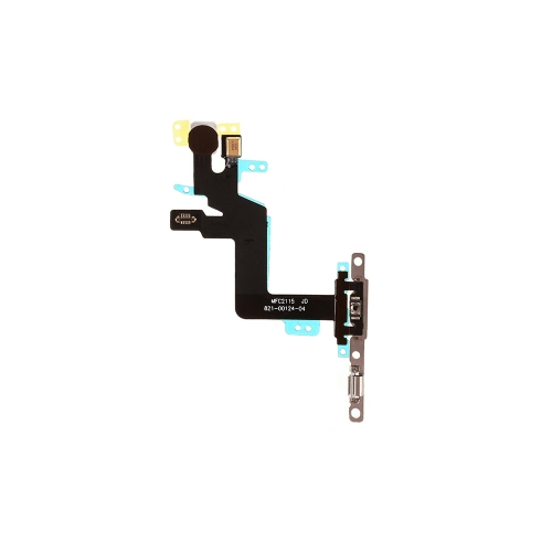 Power Switch Flex Cable with Metal Plate For Apple iPhone 6s Plus - AA